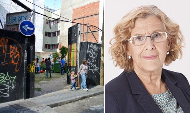 Carmena cede la parcela okupa más famosa de Madrid para un centro de salud