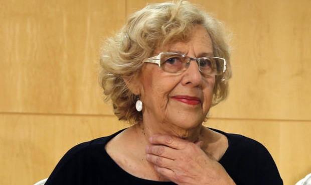 """Carmena, tras ingresar en La Princesa: """"La sanidad de Madrid es un orgullo"""""""
