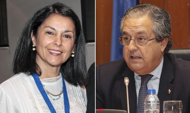 Carmona y Alarcó, portavoces sanitarios del PSOE y PP en el Senado