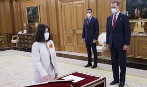 Carolina Darias promete su cargo como ministra de Sanidad ante el Rey