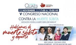 Casillas narra su vivencia en el Congreso Nacional contra la Muerte Súbita