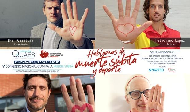 """Casillas: """"Suerte que el infarto fue en el entrenamiento y no en la calle"""""""
