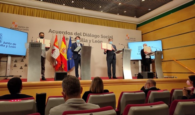 Castilla y León estudia adelantar la vacunación de ejecutivos exportadores