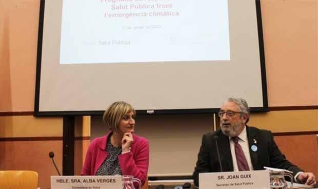 Cataluña lanza un plan de salud pública frente a la emergencia climática