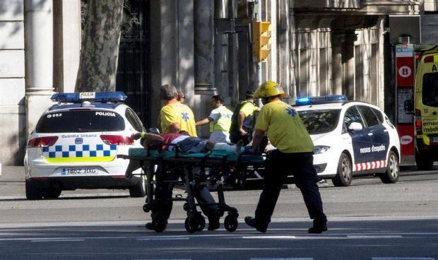 Cataluña no busca emociones entre los sanitarios de los atentados