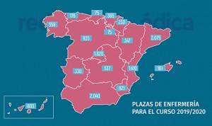 Cataluña y Andalucía, las CCAA con más plazas de Enfermería para este curso