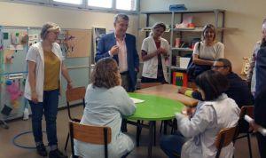 Celaya destaca el papel de los centros ocupacionales en la sanidad