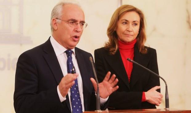 """Ceniceros se reúne con Montserrat para abordar la """"equidad"""" en el SNS"""