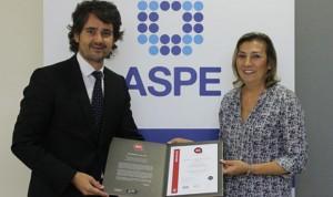 Certificado el sistema de gestión de la calidad de ASPE