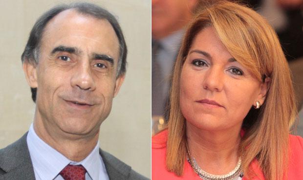 César Antón y Susana Camarero