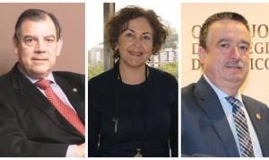 Tres candidatos optan a la Vicepresidencia Primera del Consejo de Médicos