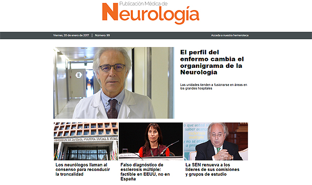 'Publicaci�n M�dica de Neurolog�a' cumple cien n�meros