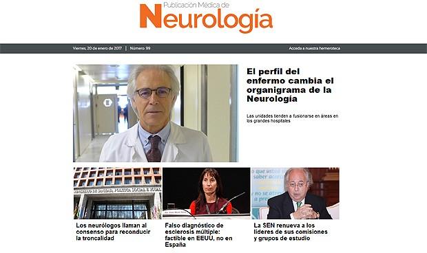 'Publicación Médica de Neurología' cumple cien números