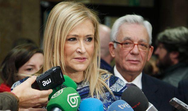 """Cifuentes: """"Confío absolutamente en Sánchez Martos, tiene todo mi apoyo"""""""