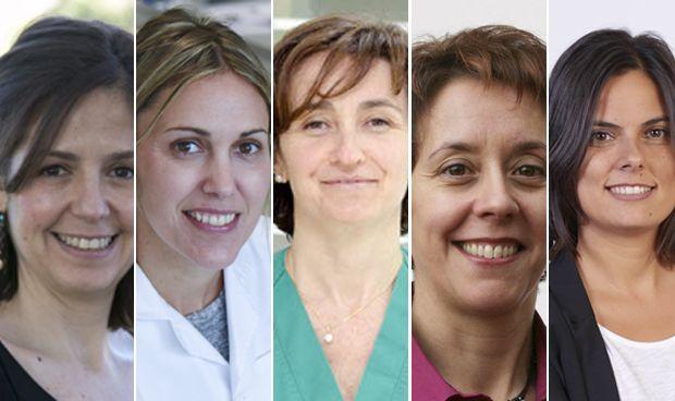 Cinco caras sanitarias entre las 100 mujeres más influyentes de España