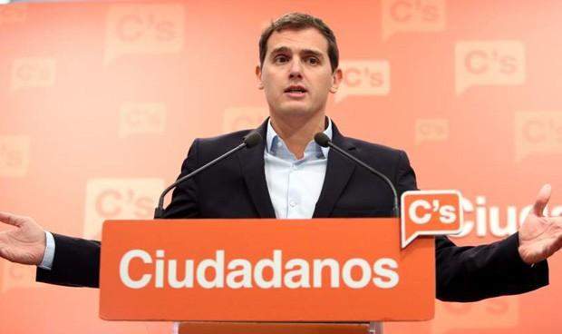 Albert Rivera, líder de Ciudadanos.