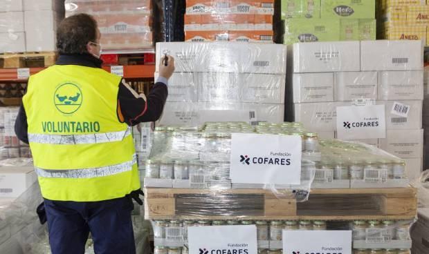 Cofares dona alimentación infantil al Banco de Alimentos de Madrid
