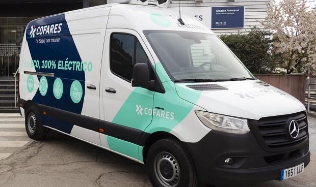 Cofares transformará el 30% de su parque móvil a vehículos eléctricos