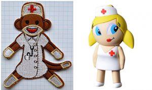 Cofia y falda corta: la imagen enfermera en la plataforma de venta Amazon