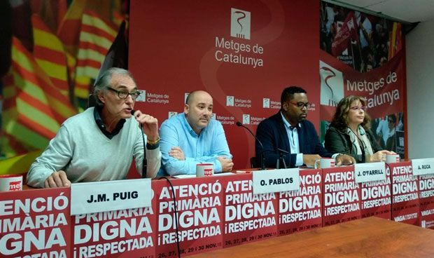 Comienza la semana de huelga médica sin que la Generalitat pueda frenarla