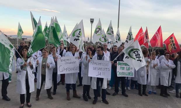 """Concentración en La Ribera: """"Estamos revertidos pero no integrados"""""""