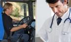 Contratar a un sanitario es más barato que a un transportista