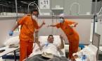 Coronavirus: AMIR hace el test de anticuerpos al personal de UCI de Ifema
