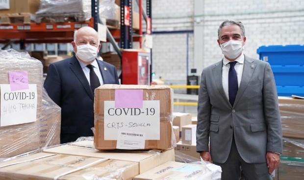 Coronavirus: Andalucía invierte 120 millones en EPI y test de Covid-19