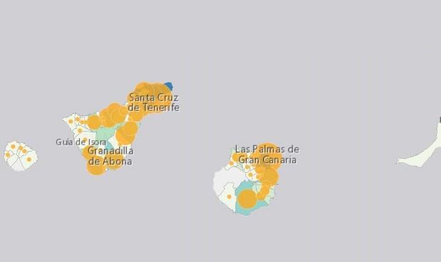 Canarias Crea Un Mapa Con Los Casos En Cada Isla De Covid 19