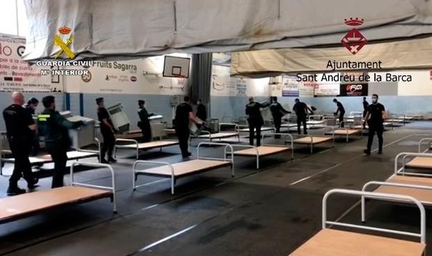 Coronavirus: Cataluña descarta abrir el hospital de campaña de Sant Andreu
