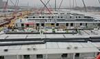 Coronavirus: China crea varios hospitales para habilitar 10.000 camas más