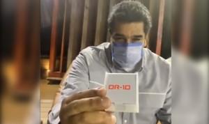 """'DR-10', la molécula venezolana de Maduro para """"curar el coronavirus"""""""