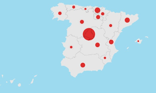 Coronavirus: los curados en España día a día desde el inicio del brote
