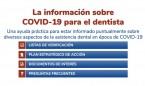 El Consejo General de Dentistas presenta su nueva Web-App sobre coronavirus