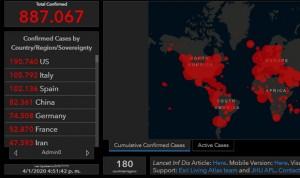 Coronavirus: EEUU supera a España e Italia con 895 muertos en un solo día