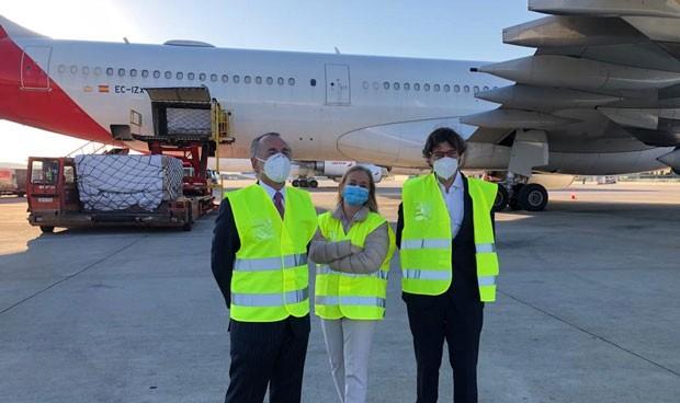 Coronavirus: el Corredor Aéreo completa 2 meses y 101,75 millones de EPI