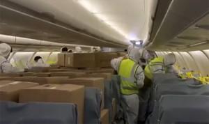 Coronavirus: el Corredor Sanitario Aéreo trae a España 57 millones de EPI