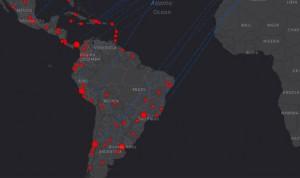 Coronavirus: el mapa de la OMS con positivos y muertes en América Latina