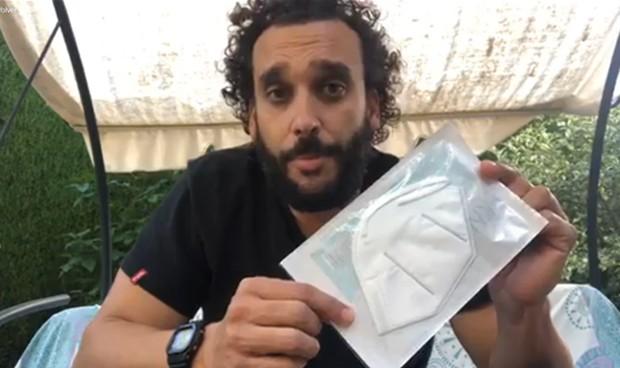 Coronavirus: el SAS retira miles de mascarillas 'fake' donadas por Spiriman