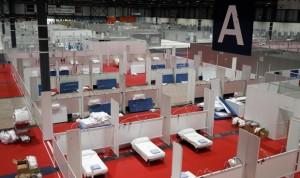 Coronavirus en Madrid: abierto el pabellón 7 del hospital de Ifema
