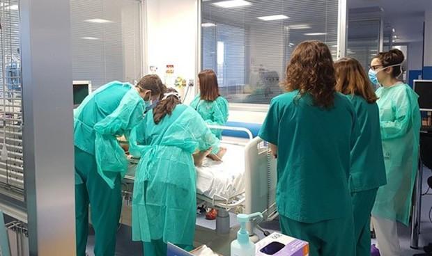 """Coronavirus en un hospital: """"Conozco los riesgos, pero nos falta material"""""""