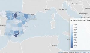 Coronavirus: España se asoma a un umbral de incidencia inferior a 200 casos