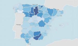 Coronavirus España: incidencia y mortalidad, 'cara y cruz' de noviembre