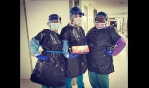 Coronavirus: No solo en España faltan EPI, así se 'protegen' en Nueva York
