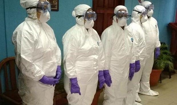 Coronavirus: fijados tres escenarios de riesgo para el personal sanitario