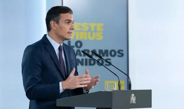"""Sánchez: """"La propuesta es extender el estado de alarma hasta el 9 de mayo"""""""