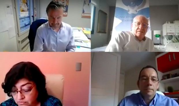 Coronavirus: las enfermeras iberoamericanas denuncian la falta de material