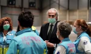 """Coronavirus: Madrid alaba el """"admirable compromiso"""" del personal sanitario"""