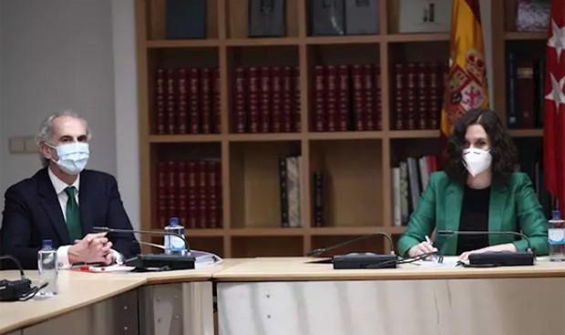 Coronavirus: Madrid recurre la decisión de Sanidad de denegarle la Fase 1