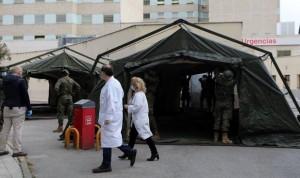 Coronavirus Madrid: el Gregorio Marañón desmonta su hospital de campaña